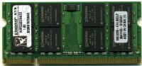 Оперативная память 2GB DDR2 PC4200/4300 SO-DIMM CL4 Kingston ValueRAM KVR533D2S4/2G
