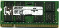 Оперативная память 1GB DDR2 PC4200/4300 SO-DIMM CL4 Kingston ValueRAM KVR533D2S4/1G