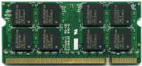 Оперативная память 2GB DDR2 PC5300 SO-DIMM CL5 Transcend TS256MSQ64V6U