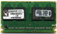 Оперативная память 512MB DDR2 PC2-5300(667MHz) Micro-DIMM CL5 OEM Kingston KVR667D2U5/512
