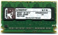 Оперативная память 512MB DDR2 PC2-4200/4300(533MHz) Micro-DIMM CL4 Kingston KVR533D2U5/512